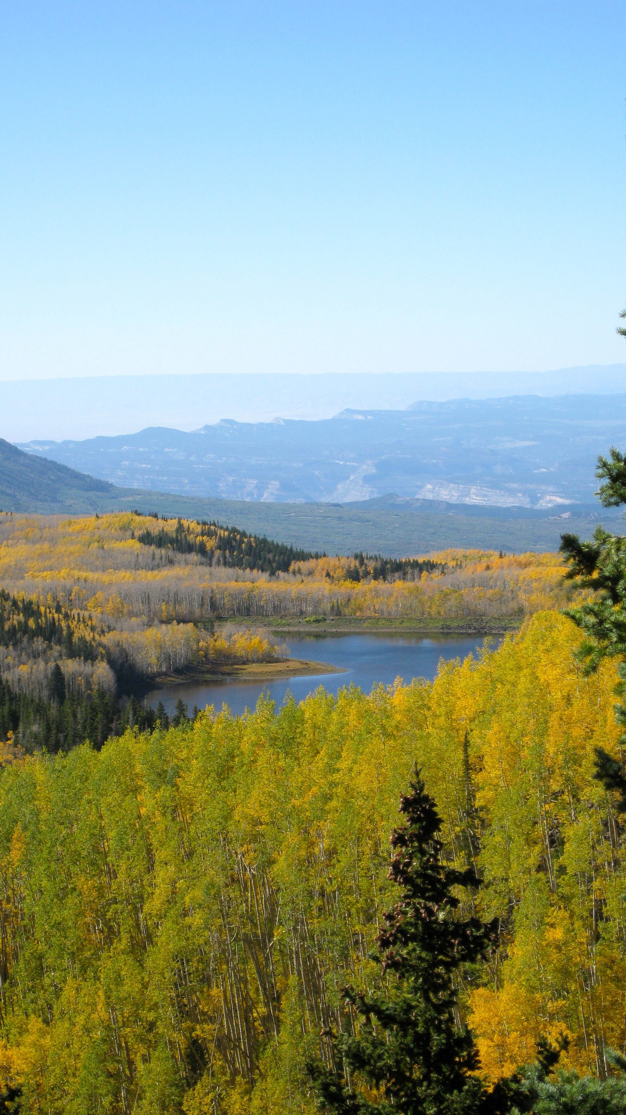 The Grand Mesa's mountain lake is perfect for trout fishing. Photo courtesy of the Colorado Tourism Office.