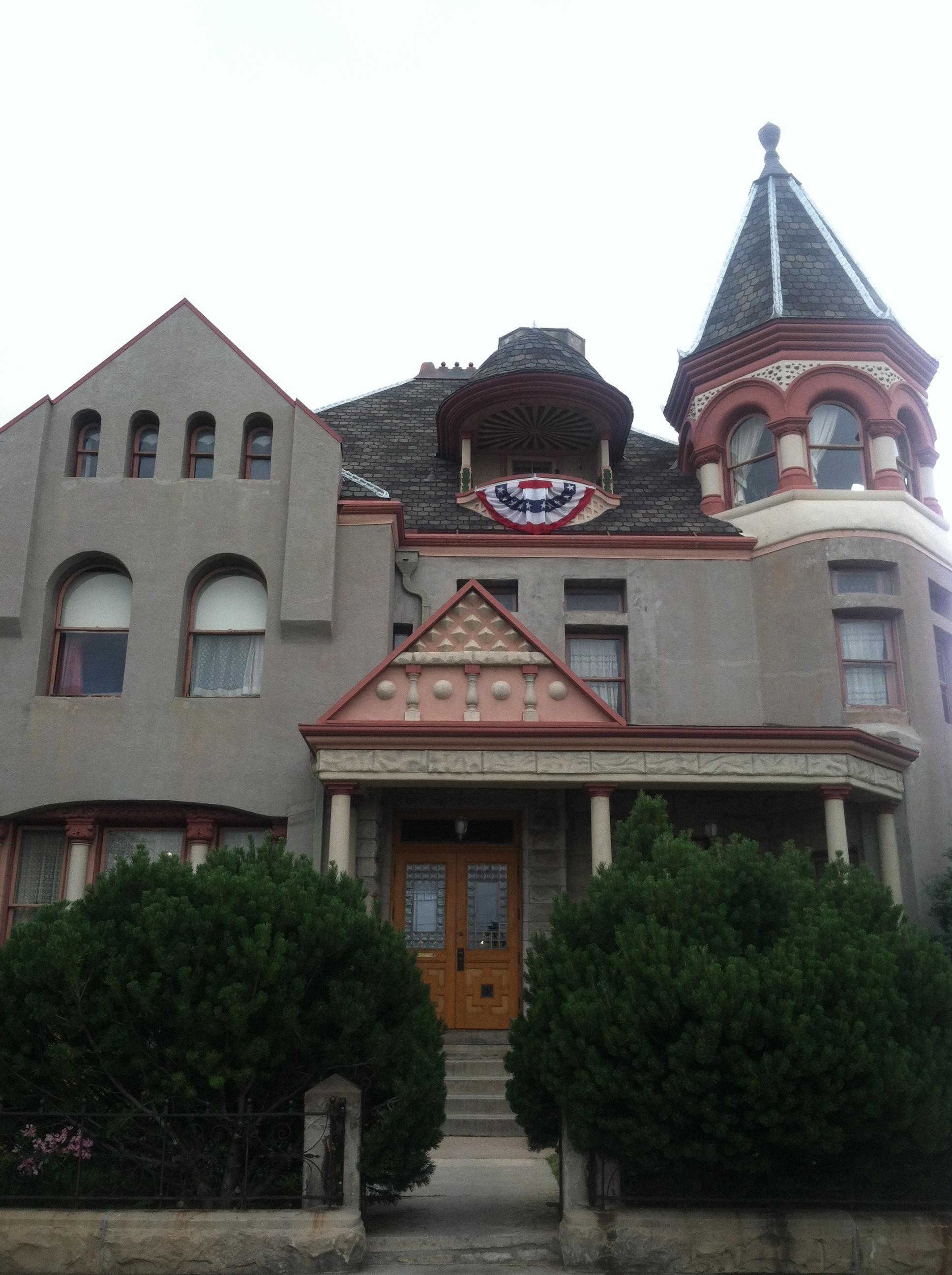 The historic Nagle Warren Mansion