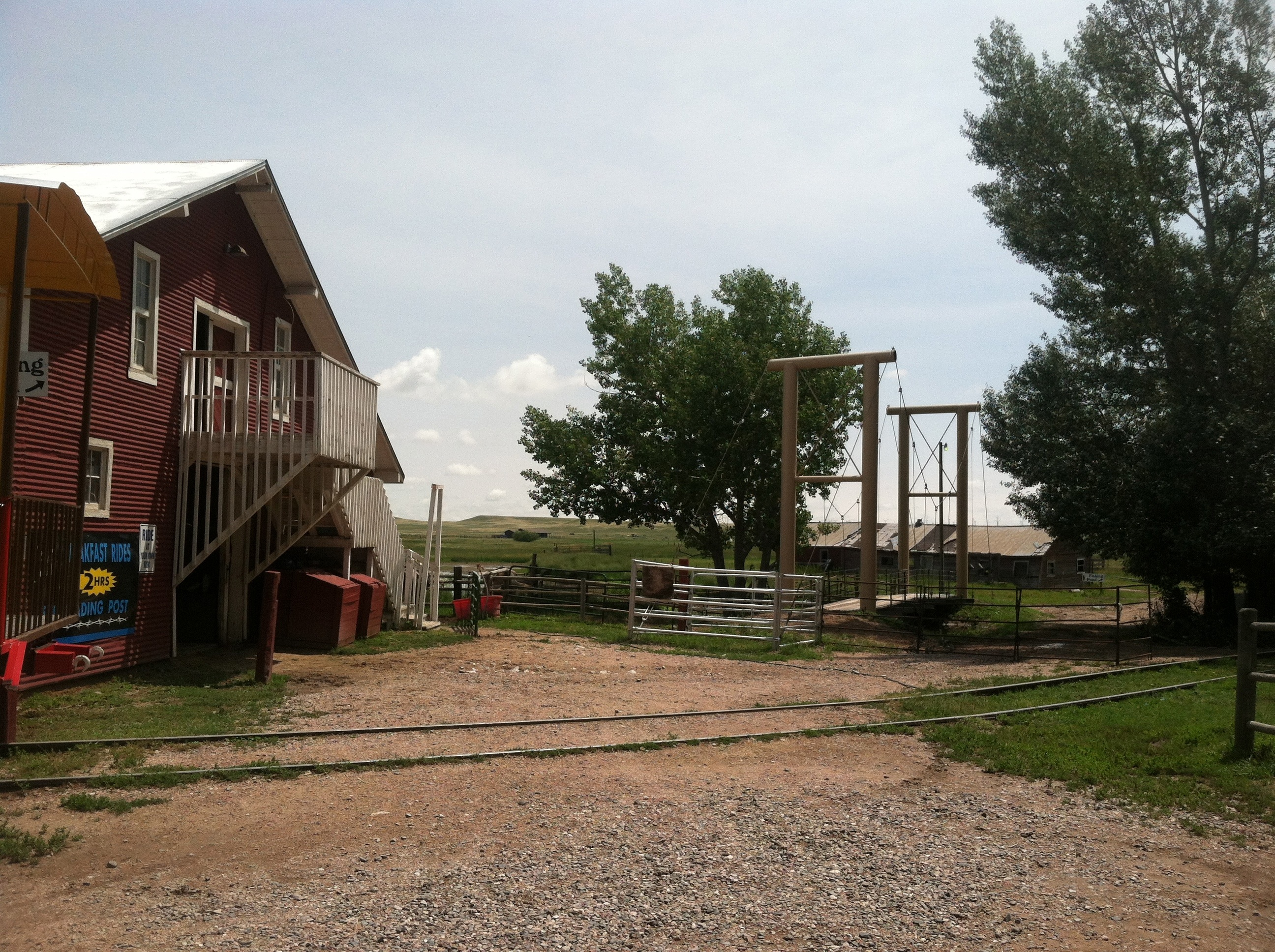A view of Terry Bison Ranch
