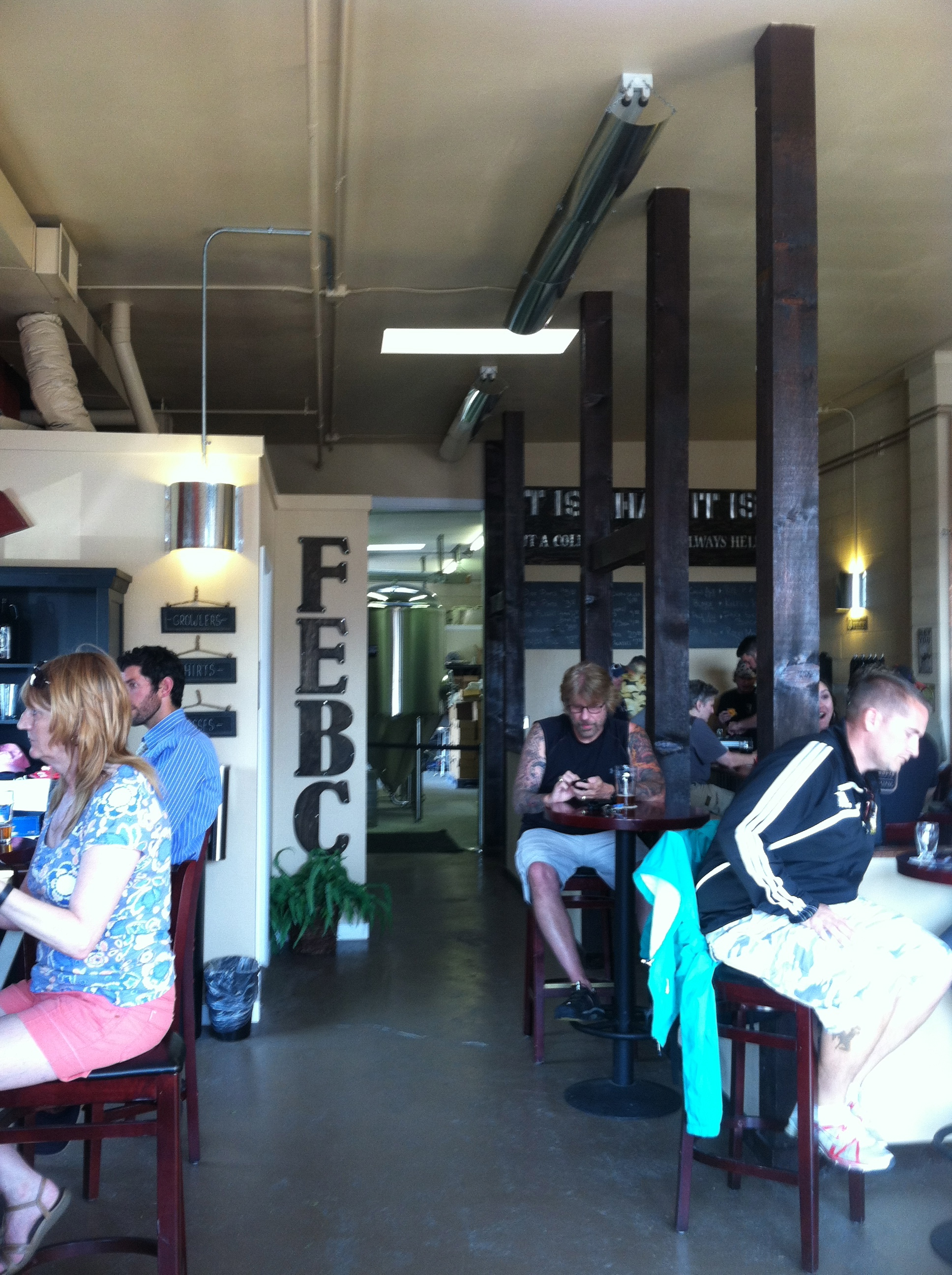 Try the 1890 IPA at Freedom's Edge Brewing Co.