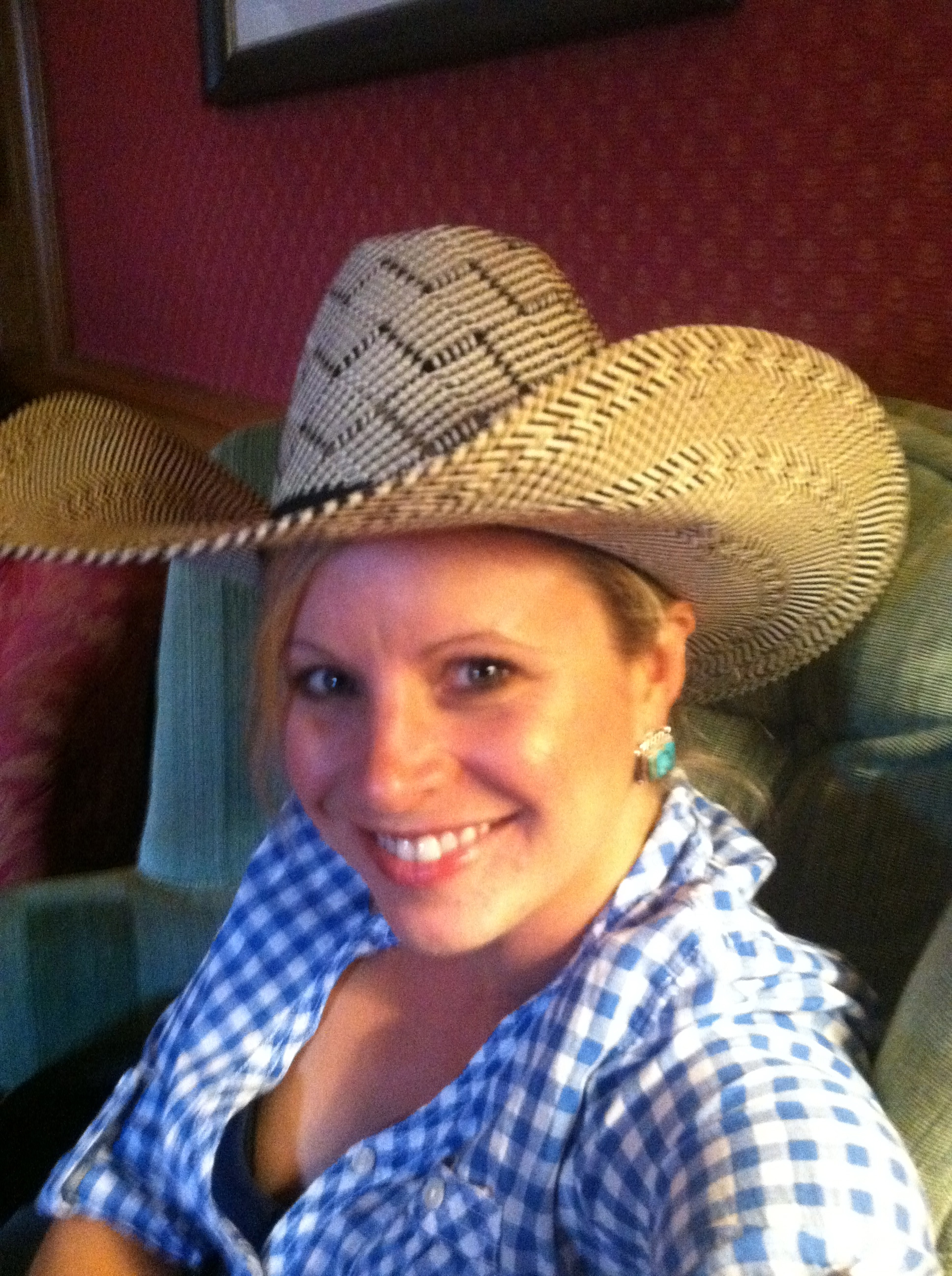 This is me, post-cowgirl training!