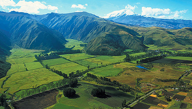 Ecuador, Andes Mountains, Hacienda Zuleta