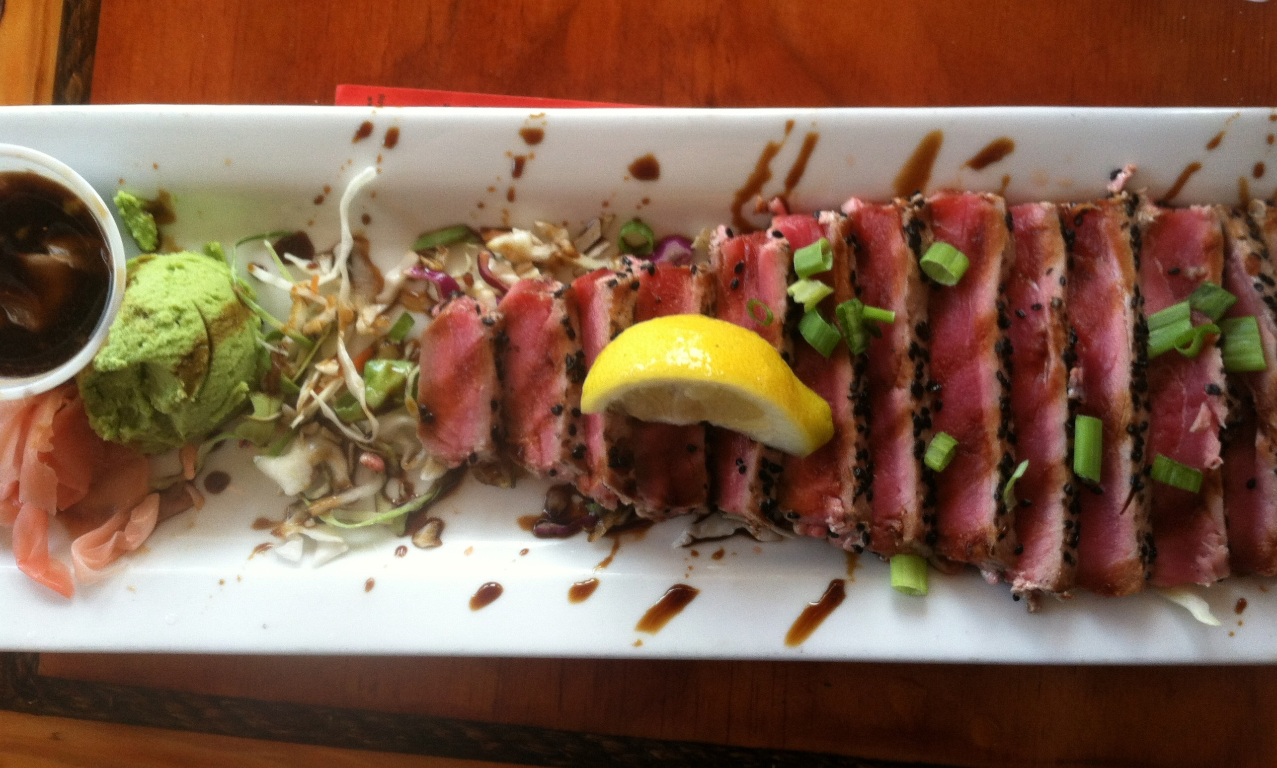 Fort Walton restaurants, seared tuna
