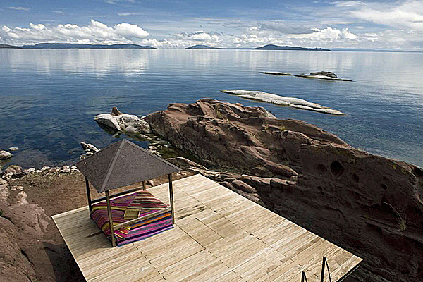 Peru, Lake Titicaca, Titilaka Lodge