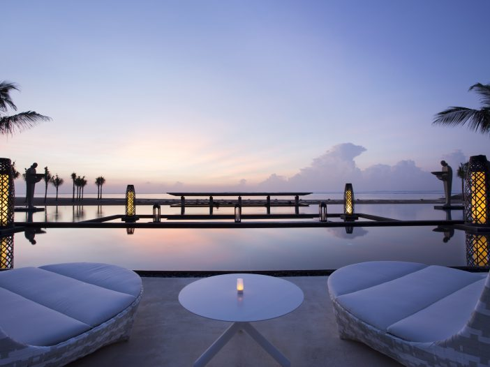 Ocean Pool, Mulia Resort, Bali, Indonesia