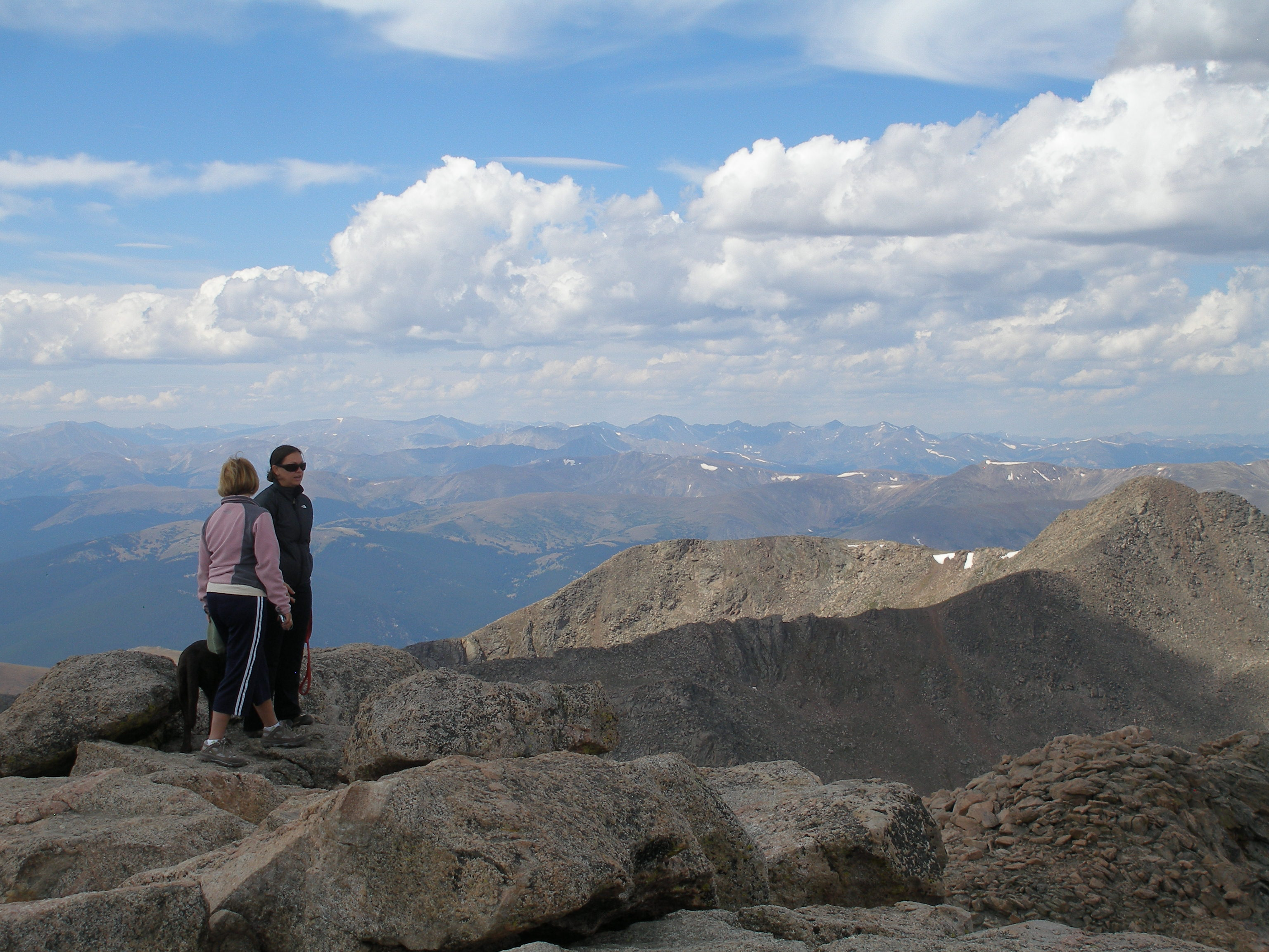 Mount Evans, From the Summit Photo by Sally Pearce, CDOT