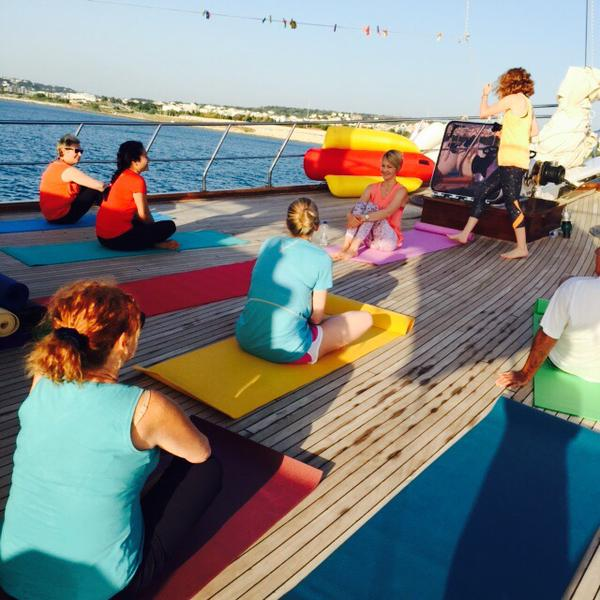 Yoga retreat, Greece